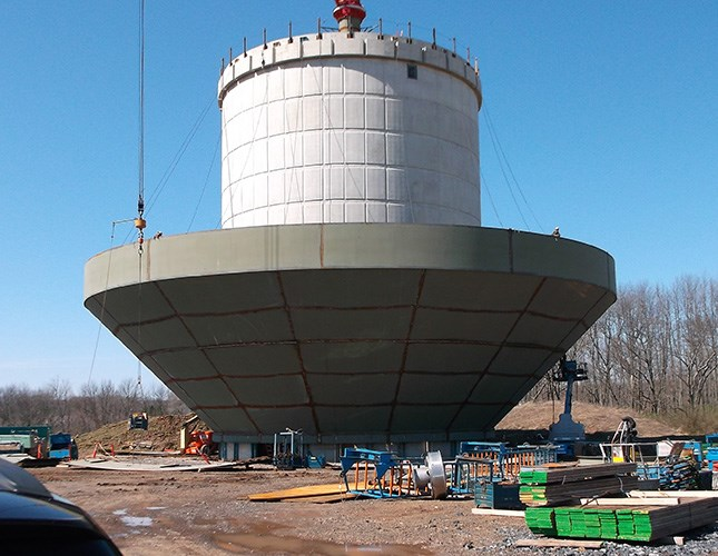 Water Tank Design : North penn water authority elevated storage tank
