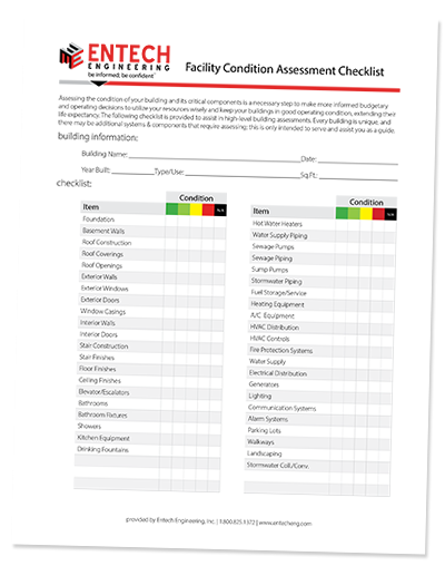 Facility Condition Assessment Checklist
